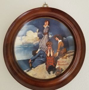 Decorative Norman Rockwell Plate